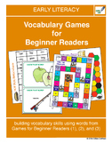 Vocabulary Games for Beginner Readers