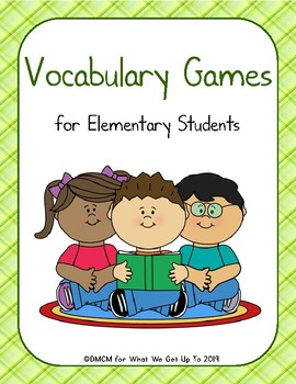 Vocabulary Games for Elementary Students