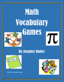 Vocabulary Games for Middle School 6-8 Dictionary and Word Cards