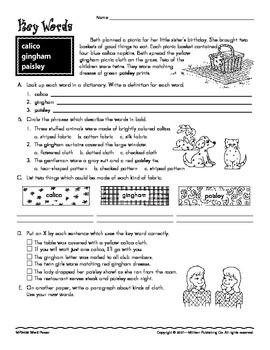 Vocabulary (CCSS L.4.6)