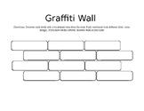 Vocabulary Graffiti Wall