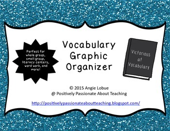 Vocabulary Graphic Organizer 2