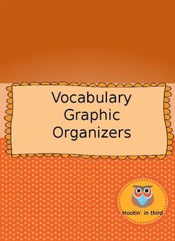 Vocabulary Graphic Organizer Bundle