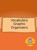 Vocabulary Graphic Organizer Bundle