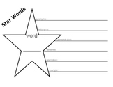 Vocabulary Graphic Organizer - STAR