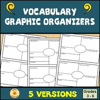 Vocabulary Graphic Organizer: Small