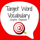 Vocabulary Graphic Organizer - Target Word Template
