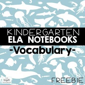 Literacy Notebooks: Vocabulary Titles