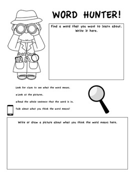 Vocabulary Graphic Organizer and Fun Class Activity (Common Core Aligned)