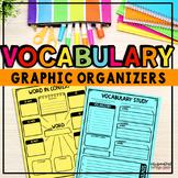 Vocabulary Graphic Organizers | TpT Digital