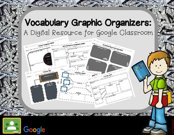 Vocabulary Graphic Organizers: A Digital Resource for Goog