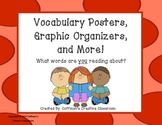 Vocabulary Graphic Organizers, Posters, Foldable, and More!