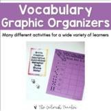 Vocabulary Graphic Organizers (Growing)