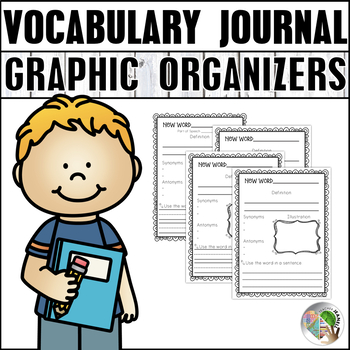 Vocabulary Graphic Organizers - Word of the Day