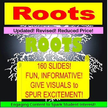 Vocabulary Greek Roots Lessons, Prefixes and Suffixes PowerPoint