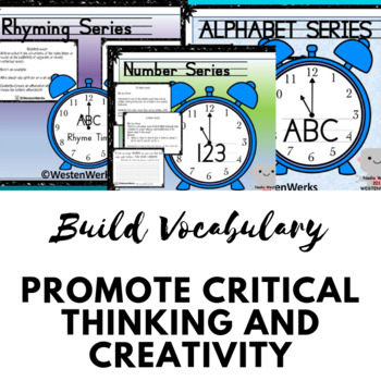 Vocabulary Growth Through Hands-On Challenges Bundle Minute to Win It