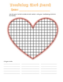 Vocabulary Homework Activity: Word Search