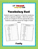 Vocabulary Hunt- Family