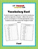 Vocabulary Hunt- Food