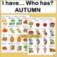 Vocabulary: I have… /Who has…?  AUTUMN Game for Primary Children