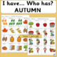 Vocabulary: I have… /Who has…?  AUTUMN Game for Primary Children (SASSOON)