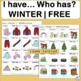 I Have Who Has Games  WINTER  FREE