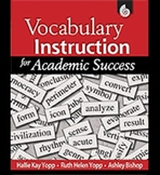 Vocabulary Instruction for Academic Success (Physical Book)