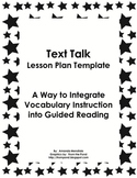 Vocabulary Instruction in Guided Reading Groups