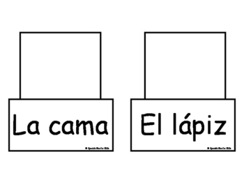 Vocabulary-Interactive Flash Cards-Spanish