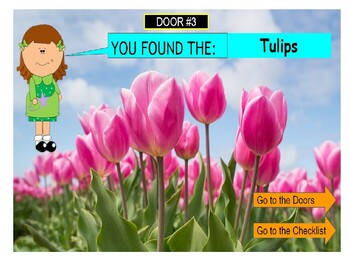 Vocabulary Interactive Mystery Search Activity-Time for Spring! -(Google Slides)