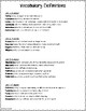 Vocabulary Interactive Notebook #2 - High School ELA - 33 pages!