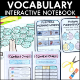 Vocabulary - Reading Interactive Notebook | Distance Learning