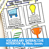 Vocabulary Interactive Notebook Activities
