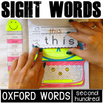 Vocabulary Interactive Notebook BUNDLE #2 (Oxford words 101-200)