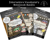 Vocabulary Interactive Notebook: Bundle 3rd, 4th, 5th Grade