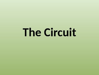 Vocabulary Introduction for The Circuit by Francisco Jimenez