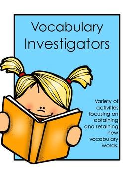 Vocabulary Investigators!