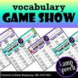 Vocabulary Game Show