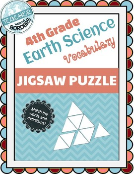 Vocabulary Jigsaw - Earth & Space Science (BCAMSC)