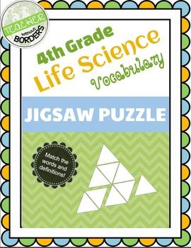 Vocabulary Jigsaw - Life Science (BCAMSC)