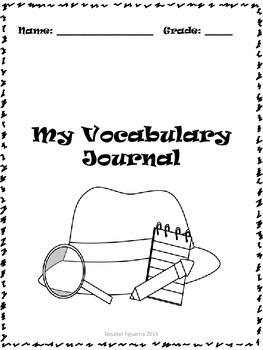 Vocabulary Journa