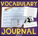 $1 Vocabulary Journal