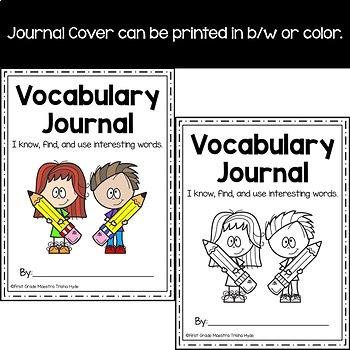 Vocabulary Journal