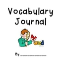 Vocabulary Journal Cover