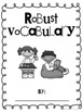 Vocabulary Journal Covers and Graphic Organizers