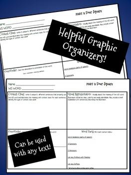 Vocabulary Journal - Creative Word Study Assessment {CCSS}