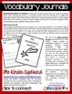 Vocabulary Journal / Journals  {Primary Writing Lines}