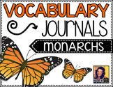 Vocabulary Journal:  Monarch Butterflies