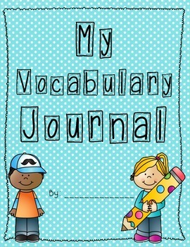 Vocabulary Journal Notebook Template
