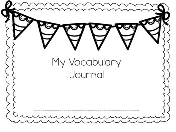 Vocabulary Journal : Reach For Reading Units 1-9